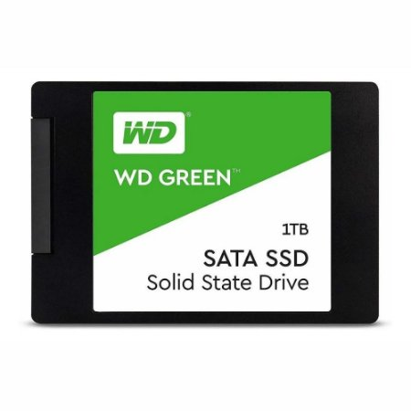 HD SSD WD Green 1TB SATA Leitura 545Mbps Gravação 430Mbps Western Digital WDS100T2G0A