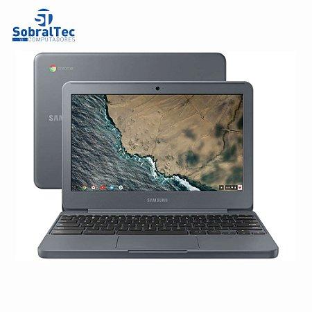 """Notebook Samsung Chromebook Intel Celeron N3060 Hd 16Gb Emmc 4Gb Ram 11,6"""" Led Hd 501C13-AD2"""