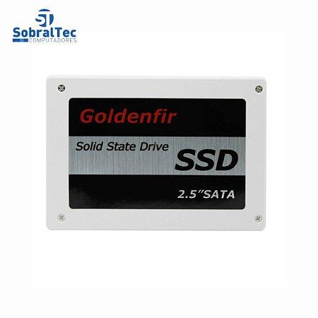HD SSD Goldenfir 512GB 2.5mm Sata 3 Leitura 580mb Gravação 400mb T650-512G