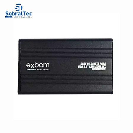 Case Para HD De Notebook Usb 2.0 Sata 2.5 CGHD-10 Exbom