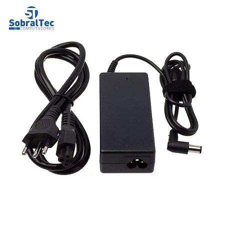 Fonte Notebook Compativel Com Dell - 19.5V 3.34A 65W - 7.4Mmx5.0Mm - Agulha Pa-12