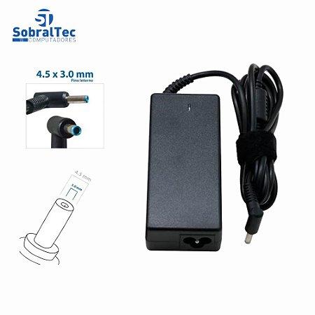 Fonte Notebook Compatível Com  Dell XPS 19.5V 2.31A 45W Plug 4.5 x 3.0Mm