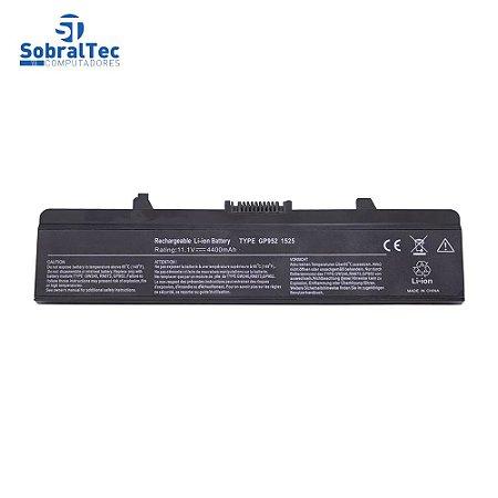 Bateria Notebook Compativel Com Dell Inspiron 1525 6 Celulas- Preto - 10.8V
