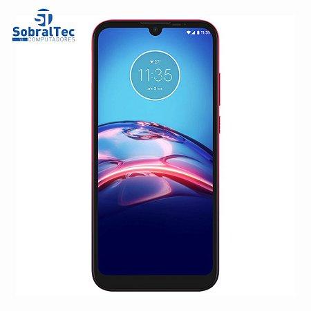 """Smartphone Motorola Moto E6s Magenta 64GB Tela 6.1"""" Câmera Traseira Dupla Processador Octa-Core 2GB RAM XT2053-2 V2"""