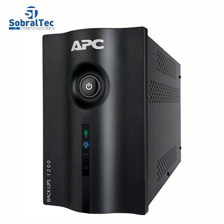 Nobreak APC Back UPS 1200VA 600W Bivolt 115V/220V 8 Tomadas BZ1200-BR