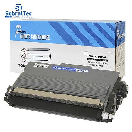 Cartucho Toner Compatível Brother Tn750/3382/3332/3392 Premium Cartridge