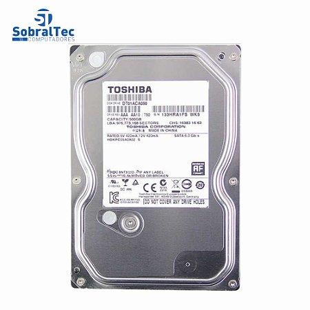 Hd int. Desktop Toshiba 500gb Dt01aca050 32mb 7200 Sata3