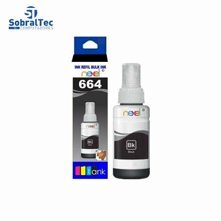 Tinta Refil Bulk Ink Epson Corante 100ML Preto- 664 Nexel