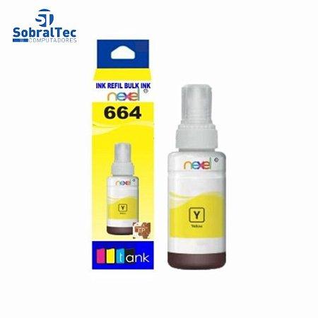 Tinta Refil Bulk Ink Epson Corante 100ML Amarelo- 664 Nexel