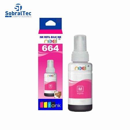 Tinta Refil Bulk Ink Epson Corante 100ML Magento- 664 Nexel