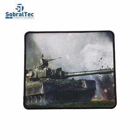 Mousepad Gamer Estampas World War 25x20 Cm Silk-Fliding AJ L-16 Tanque T-54/55
