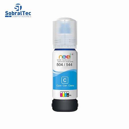 Tinta Refil Bulk Ink Epson Corante 70Ml Cyan - 504/544 Nexel