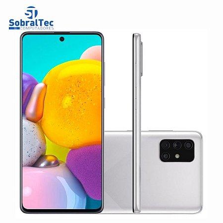 Smartphone Samsung Galaxy A71, 128GB, 64MP, Tela 6.71´, Cinza - SM-A715FMSPZTO