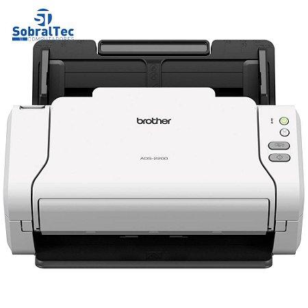 Scanner de mesa Brother Digitalização Frente e Verso (Duplex) ADS-2200