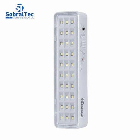 Luminária De Led Intelbras LEA 30 Bivolt 30 Leds Luz De Emergência Autônoma