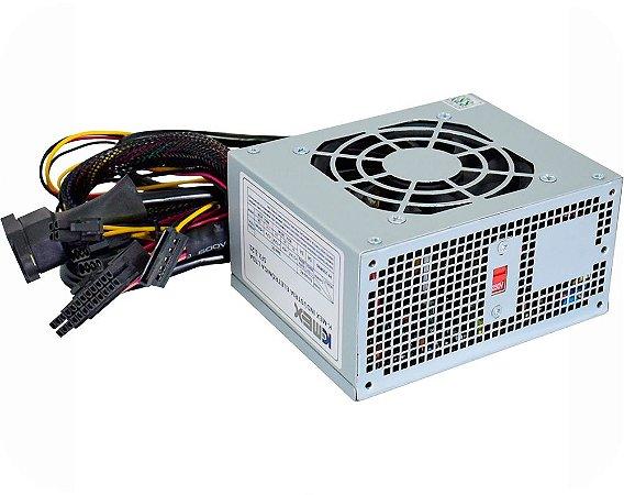 Fonte Real Mini ITX K-Mex PP-200RNG 200W Real Slim Bivolt