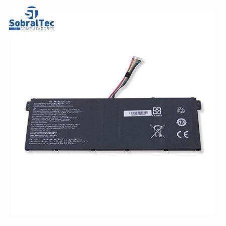 Bateria Compativel Com Acer Aspire A515-51-52Ct Ac14B18J Ac14B8K - Polimero - Black - 11.4V