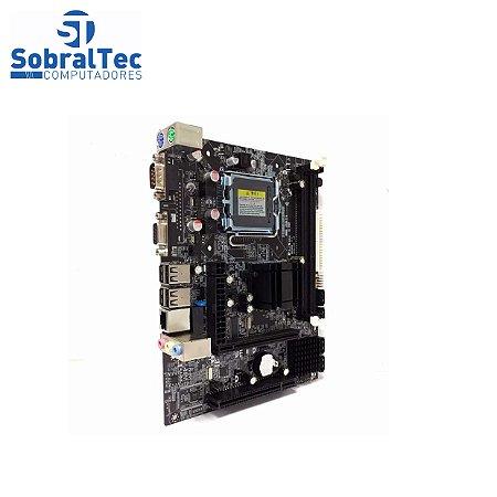 Placa-mãe Desktop G41 Lga775 Para Chipset Intel Ddr3 Dupla Usb 2.0 Noenname_null