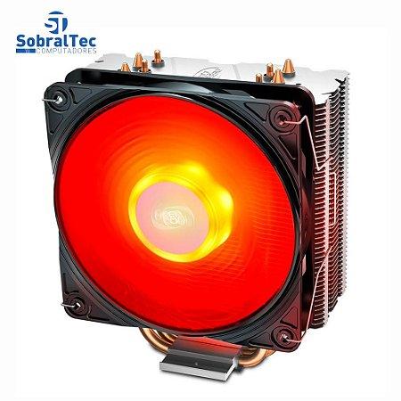 Cooler FAN DeepCool Gammaxx 400 V2, 120mm, LED Vermelho - DP-MCH4-GMX400V2-BL