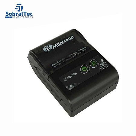 Impressora Térmica 58mm Mini Bluetooth Portátil Sem Fio Com Bolsa de cintura Android Ios Mht-p10