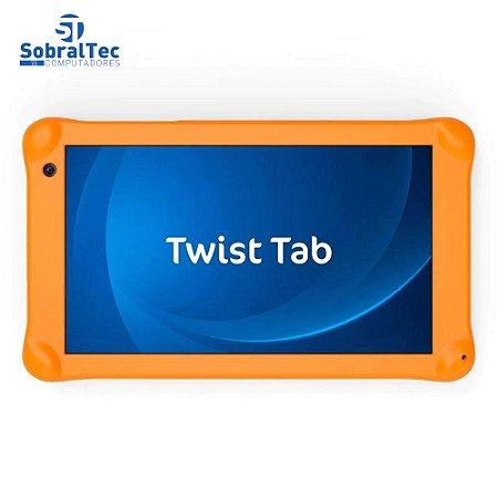 "Tablet Positivo Twist Tab Kids T770KB 32GB, Tela 7"", Câmera 2MP, Wi-Fi, Android Oreo e Processador Quad Core de 1.5 GHz"