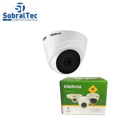 "Câmera Intelbras VHD 1120 D G5 Dome HD 720p Sensor 1/2.7"" Lente 3.6mm HDCVI Anti UV Menu OSD 20M IR"