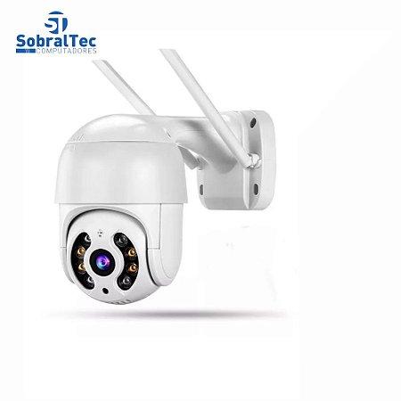 Câmera WI-FI IP Externa Movimento 2MP No Card Alerta De Duas Vozes Detecção Humana Áudio Visão Noturna Video CCTV A8-NO