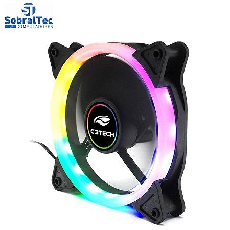 Cooler Fan F7-L120M 12CM LED 5 Cores C3T