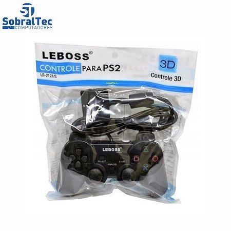 Controle Para PS2 LEBOOS LB2121