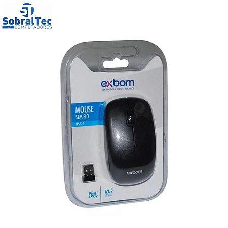 Mouse Sem Fio 2.4 Ghz Studio EXBOM MS-S22