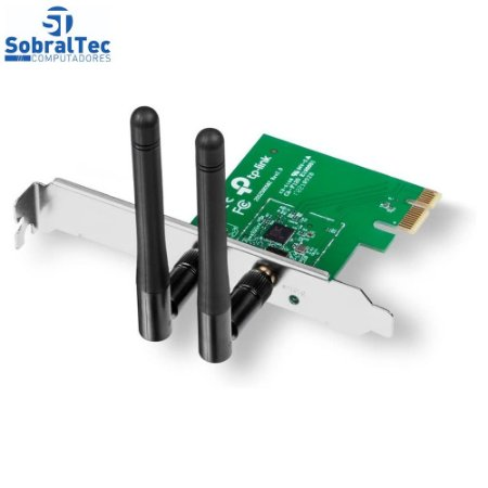 Placa de Rede  Wireless 300Mbps PCI-Express - TP-Link N300 - TL-WN881ND