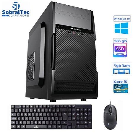 Computador Core i5-3330S-HD SSD 256GB -Memória Ram 8GB -Teclado e Mouse- Windows 10