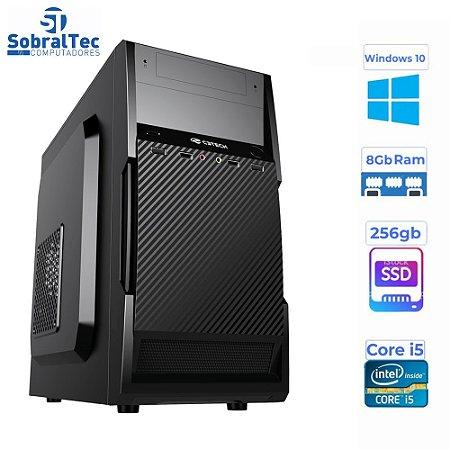 Computador Core i5 -HD SSD 256GB - Memória Ram 8GB- Micro- MT-25V2BK C3Plus- Windows 10