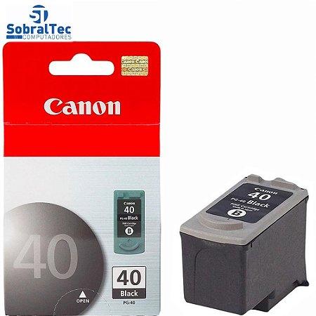 Cartucho Canon 40 Preto