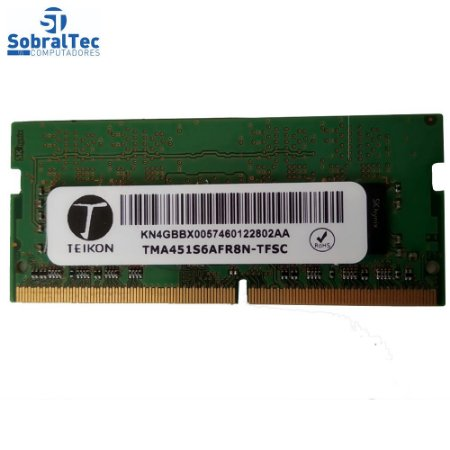 Memoria Ram Ddr4 Teikon 4Gb Tma451s6afr8n-tfsc USaDa