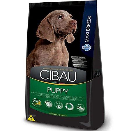 Ração Cibau Maxi Breeds Cães Filhotes Raças Grandes 15kg