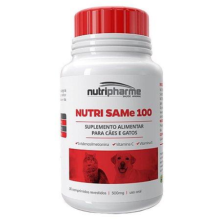Suplemento Nutri Same 100 Cães e Gatos 30 cps - Nutripharme