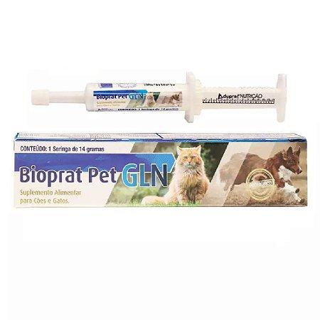 Probiótico Bioprat Pet GLN para Cães e Gatos 14g - Duprat