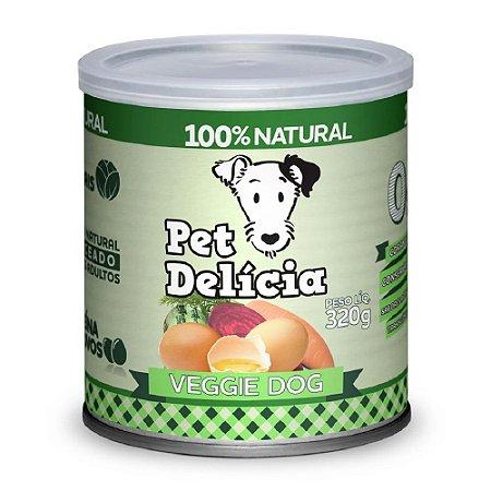 Ração Úmida Para Cães Pet Delicia Veggie 320g