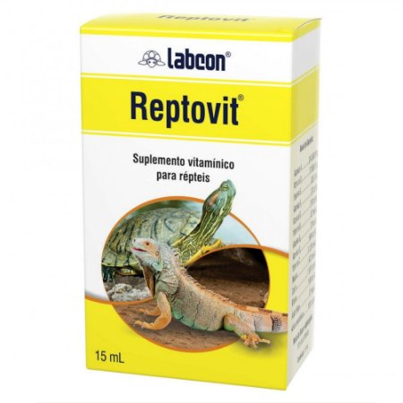 Labcon Reptovit Suplemento Vitamínico Alcon Répteis 15ml
