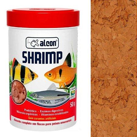 Ração Alcon Shrimp Flocos Peixes Ornamentais 50g