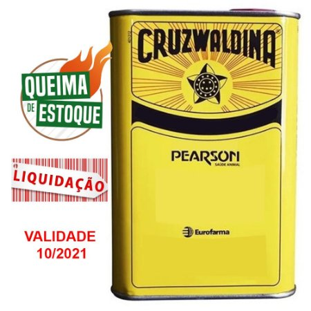 Creolina Cruzwaldina 500ml - Eurofarma (VAL: 10/21)