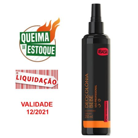 Deo Colônia Bebê 250ml Perfume - Ibasa (VAL: 12/21)