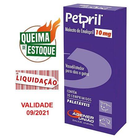 Petpril 10mg Agener 30cps (VAL: 09/21)