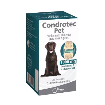 Suplemento Condrotec 1000mg 60 Comprimidos - Syntec