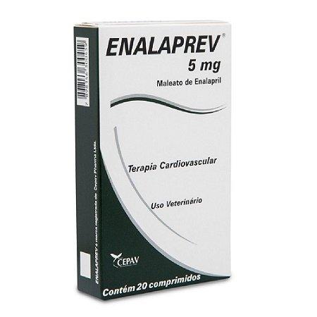 Enalaprev 5mg Vasodilatador 20 comprimidos - Cepav