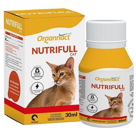 Suplemento Vitamínico Organnact Nutrifull Cat 30ml