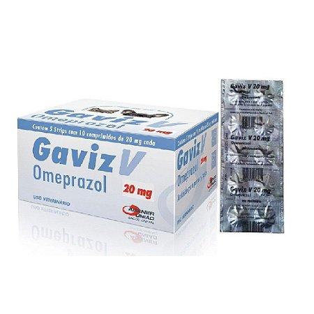 Gaviz 20mg - 10 Comprimidos Cartela Avulsa + Bula