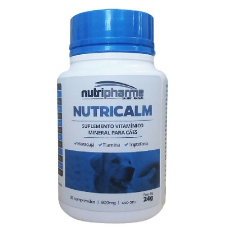 Suplemento Vitamínico Nutricalm 30cps Nutripharme 24g