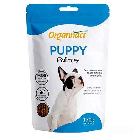 Suplemento Vitamínico Organnact Puppy Dog palito 170g